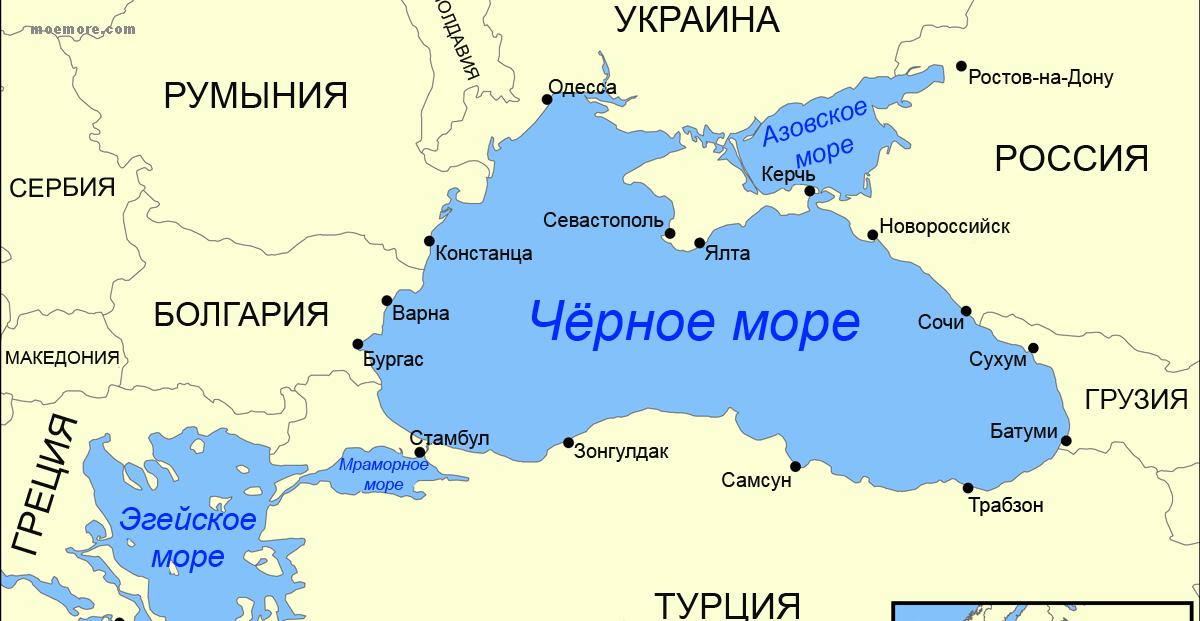 Черное море со всех сторон